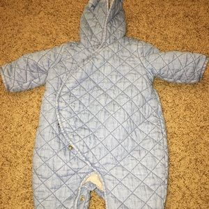GAP Jackets & Coats - Gap Denim Infant Snowsuit